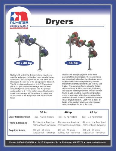 dryer-brochure Page 1